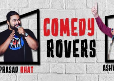 Standup comedian mayandi comedy rovers show bangalore