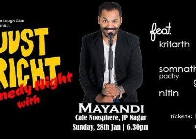 Standup comedian mayandi comedy show