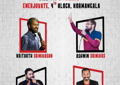 Standup comedian mayandi comedy show bangalore