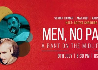 Menopause, Stand up comedy show Bangalore