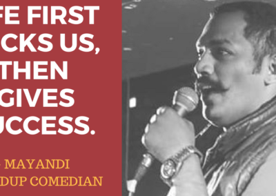 Mayandi standup comedian bangalore PHILOSOPHY quotes3