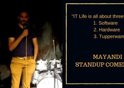 Mayandi standup comedian bangalore professional quotes3