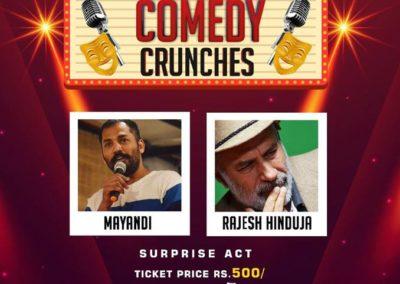 Comedy crunches bold marathalli