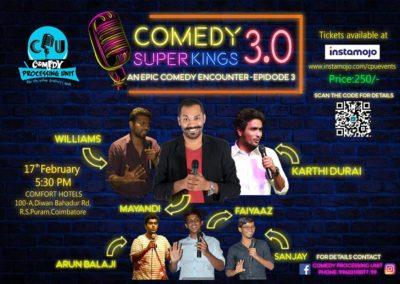 Mayandi-Standup-Comedian-Bangalore CPU Coimbatore show