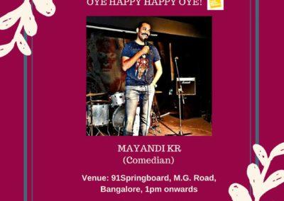 Comedian Mayandi