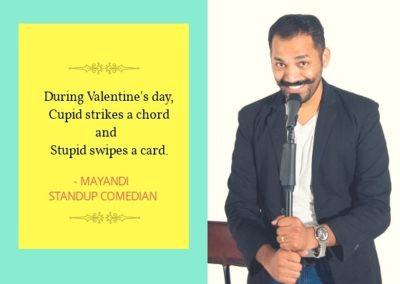 Mayandi Standup Comedian Bangalore | Humor Bytes