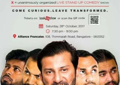 Mayandi Standup Comedian Bangalore | Wedx Stand up comedy show