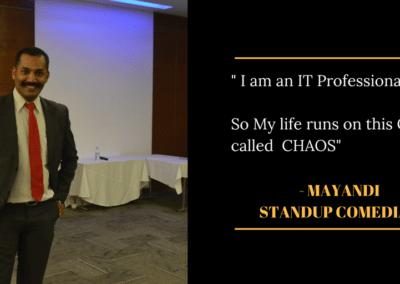Mayandi standup comedian bangalore professional quotes2
