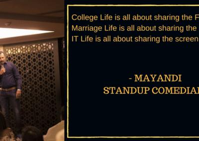 Mayandi standup comedian bangalore professional quotes4