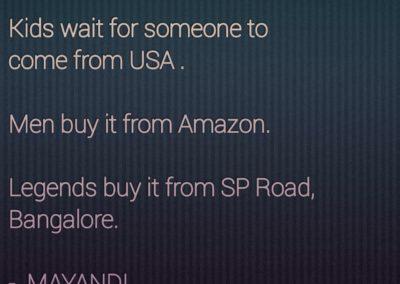 Mayandi Standup Comedian Quotes