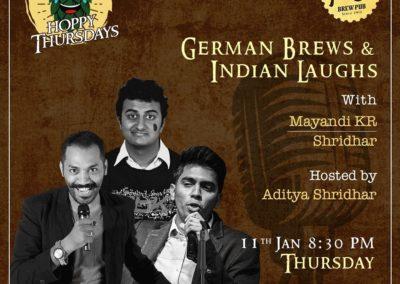 Mayandi Standup Comedian Bangalore Show